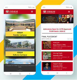 mobile responsive website