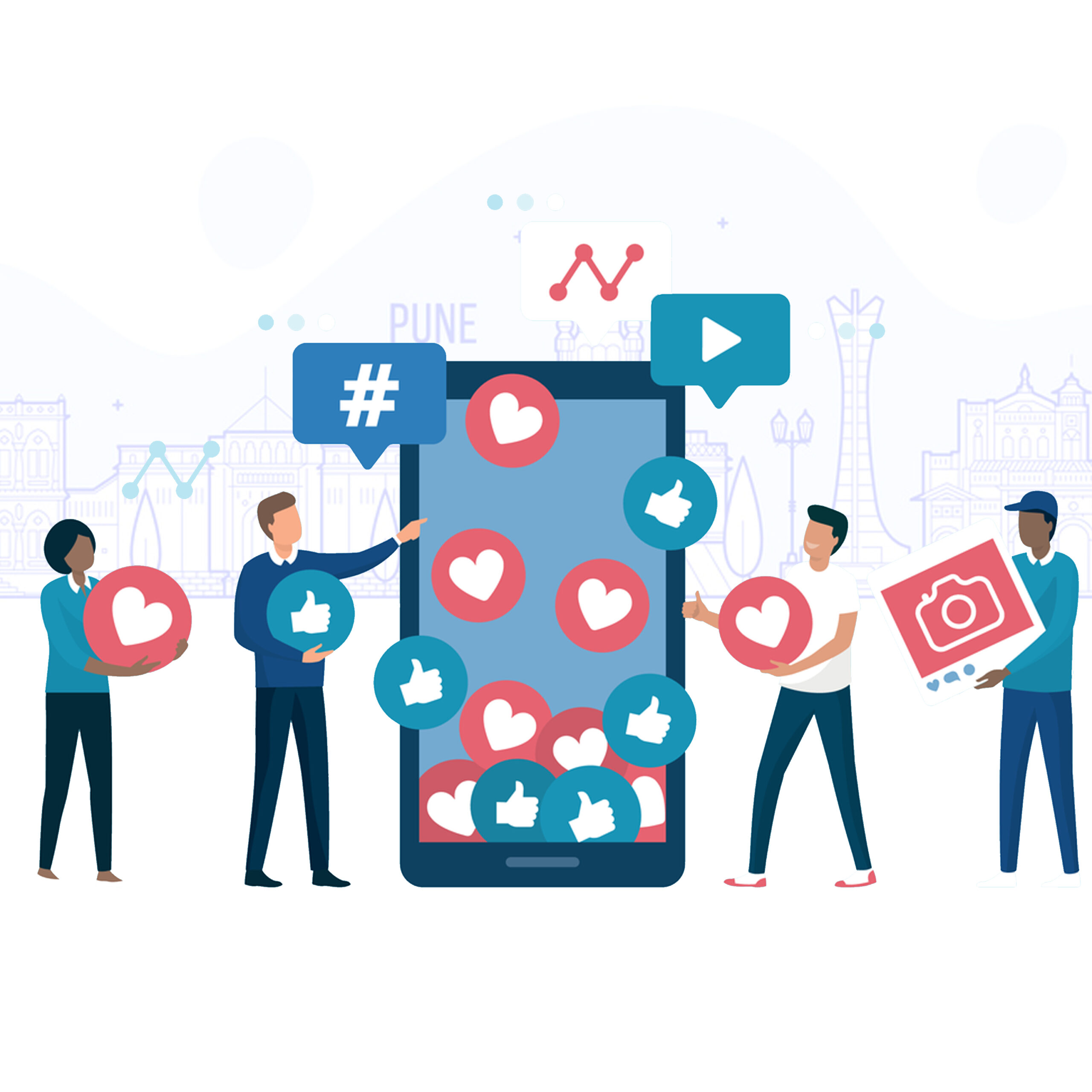 Accelerate Your Brand Engagement with one of the best social media marketing companies in Pune