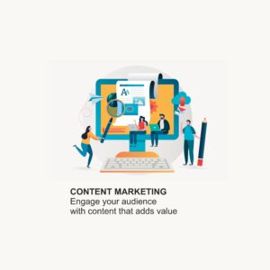 Engage your audience with unique content with best content marketing company in India