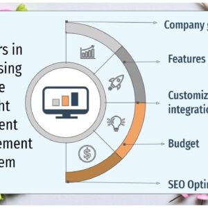 Factors in choosing the right content management system